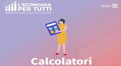 Qual è il codice di calcolo utilizzato da Bankitalia per le rate di un mutuo?